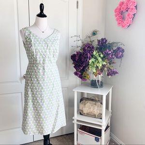 Boden A-Line Printed Sleeveless Dress